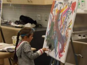 I want to paint too!