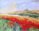 Kopcok, Anna - Abundance of Poppies 16x20 , Oil